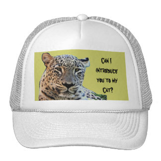 Leopardos selvagens boné
