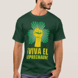 Leprechaun do EL de Viva do ¡! T-shirt Camiseta