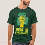 Leprechaun do La de Viva do ¡! T-shirt Camiseta