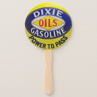 Leque A bomba de gás Dixie do vintage lubrifica a era do