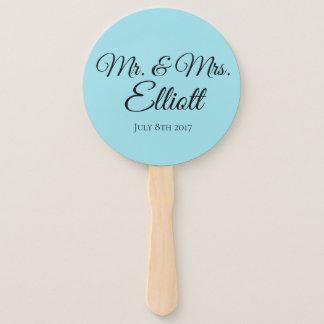 Leque Favor Wedding personalizado do fã