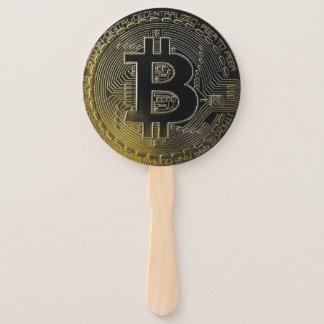 Leque Moedas de Bitcoin