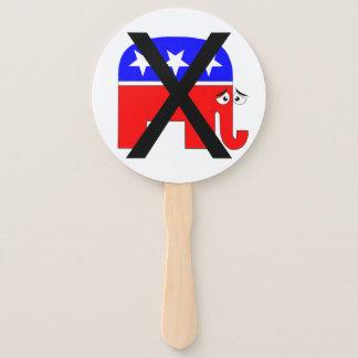 Leque Partido do anti republicano
