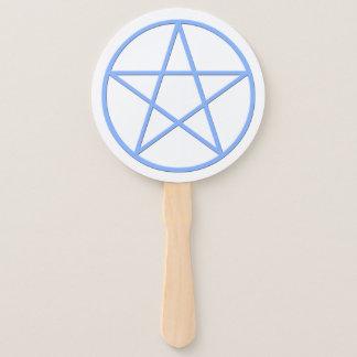 Leque Símbolo pagão do Pentacle de Falln