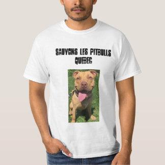 Les Pitbulls Quebeque de Sauvons Camiseta