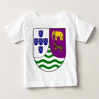 Lesser_coat_of_arms_of_Portuguese_West_Africa Camiseta Para Bebê