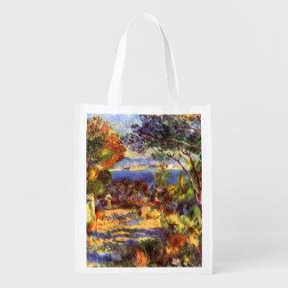 L'Estaque por Pierre Renoir, impressionismo do Sacolas Ecológicas