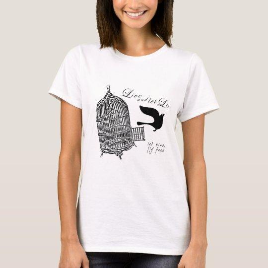 let birds fly free camiseta