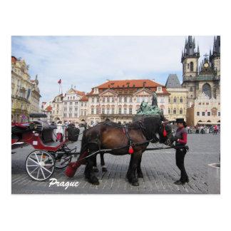 Let´s vai sightseeing no cartão de Praga