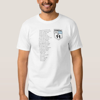 Letra Chamamé Km 11 Camisetas