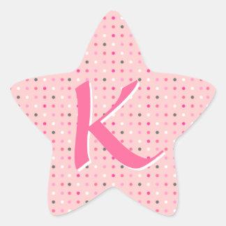 Letra da estrela adesito estrela