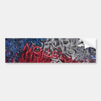 Letras da revolução adesivos