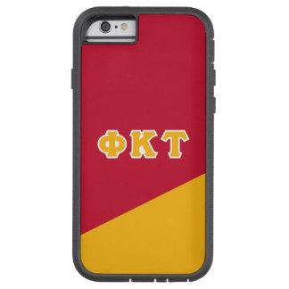 Letras do grego da tau | do Kappa da phi Capa Tough Xtreme Para iPhone 6