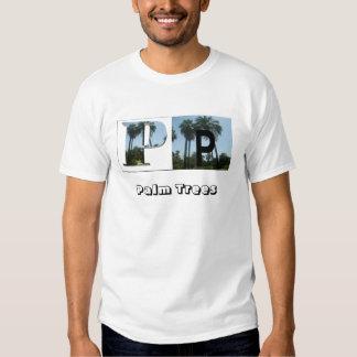Letras - P - palmeiras T-shirt
