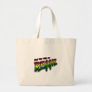Lets obtem agradável à música da reggae de Dubstep Bolsa De Lona