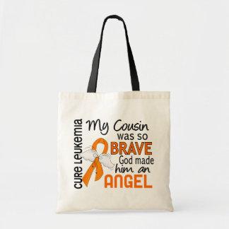 Leucemia do primo do anjo 2 (homem) sacola tote budget