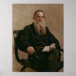 Lev Tolstoy 1887 Impressão