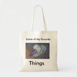 Leve todo o saco de Shih Tzu minhas coisas Bolsa Tote