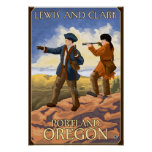Lewis e Clark - Portland, Oregon Pôsteres