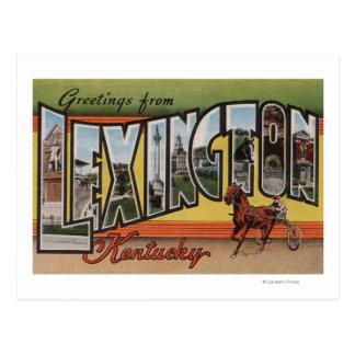 Lexington, Kentucky - grandes cenas da letra Cartão Postal