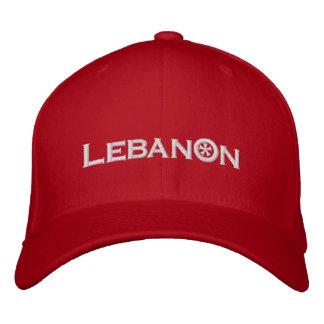 Líbano Boné Bordado
