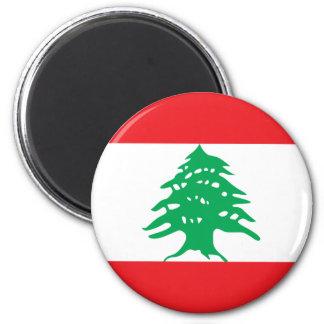 Líbano Ímã Redondo 5.08cm
