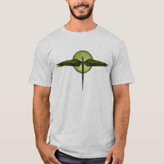 Libélula abstrata camiseta