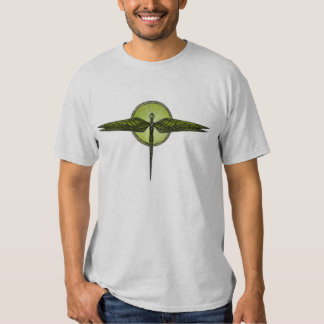 Libélula abstrata tshirts