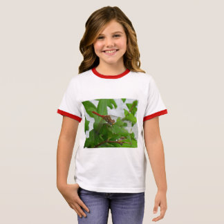 Libélula Camiseta Ringer