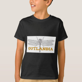 Libélula de Outlandia no âmbar Camiseta