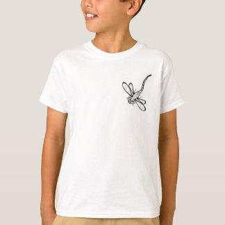 Libélula louca camiseta