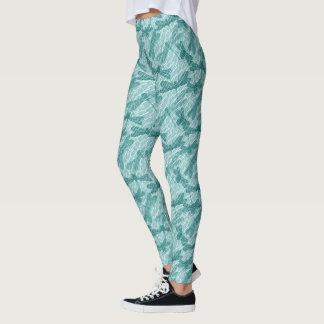 Libélulas azuis leggings