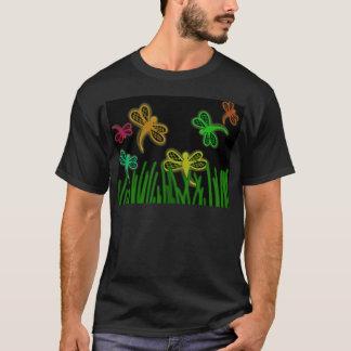 Libélulas de néon camiseta