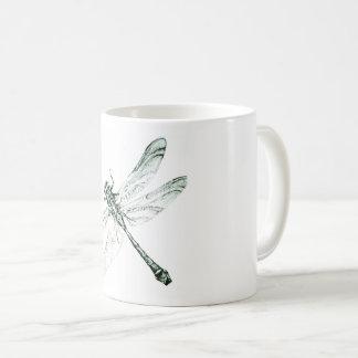 Libélulas - taça caneca de café