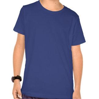 Libélulas teste padrão de flores do lírio t-shirt