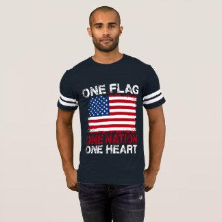 Liberdade bandeira americana EUA t-shirt gráfico Camiseta