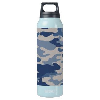 Liberdade Bottleworks dos azuis de marinho de Camo Garrafa De Água Térmica