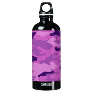 Liberdade Bottleworks dos roxos de Camo Garrafa D'água