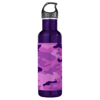 Liberdade Bottleworks dos roxos de Camo Garrafa De Aço Inoxidável