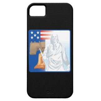 Liberdade Capa Barely There Para iPhone 5