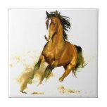 Liberdade - cavalo de funcionamento azulejo