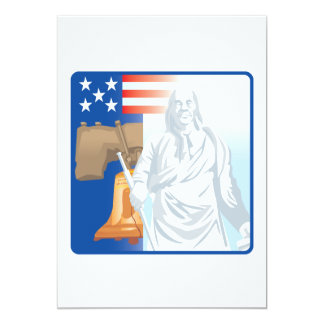 Liberdade Convite 12.7 X 17.78cm