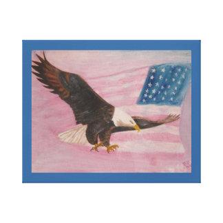 Liberdade da cópia das canvas impressão de canvas esticadas