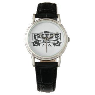 Liberdade do #Goddeeper nele relógio do vintage