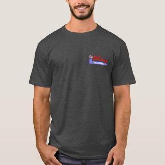 Liberdade e voleibol para todo o T escuro Camiseta