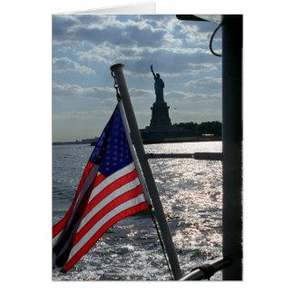 Liberdade, liberdade (vazio para dentro) cartão de nota