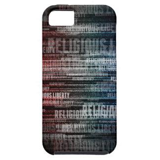 Liberdade religiosa capa tough para iPhone 5