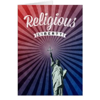 Liberdade religiosa cartão