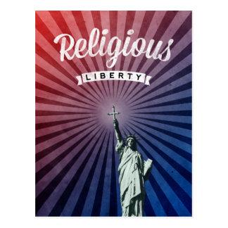 Liberdade religiosa cartão postal