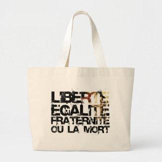 LIberte Egalite Fraternite! A Revolução Francesa Sacola Tote Jumbo